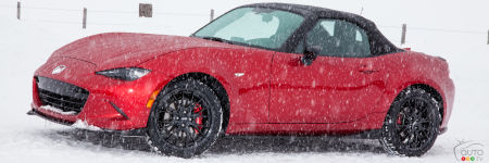Mazda MX-5 in the Snow: Denis Duquet's View