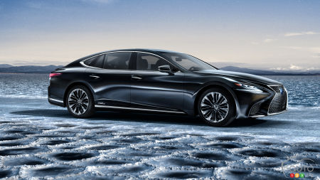 Geneva 2017: New Lexus LS 500h Answers the Porsche Panamera Hybrid