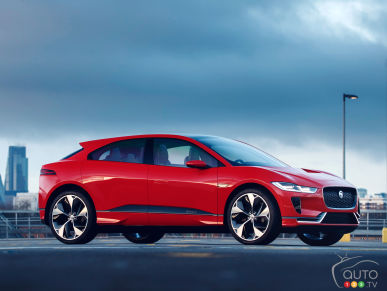 Follow Jaguar's first electric car in the streets of London