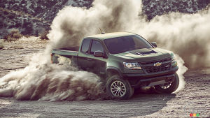 Calgary 2017: Chevy Colorado ZR2 headlines the show