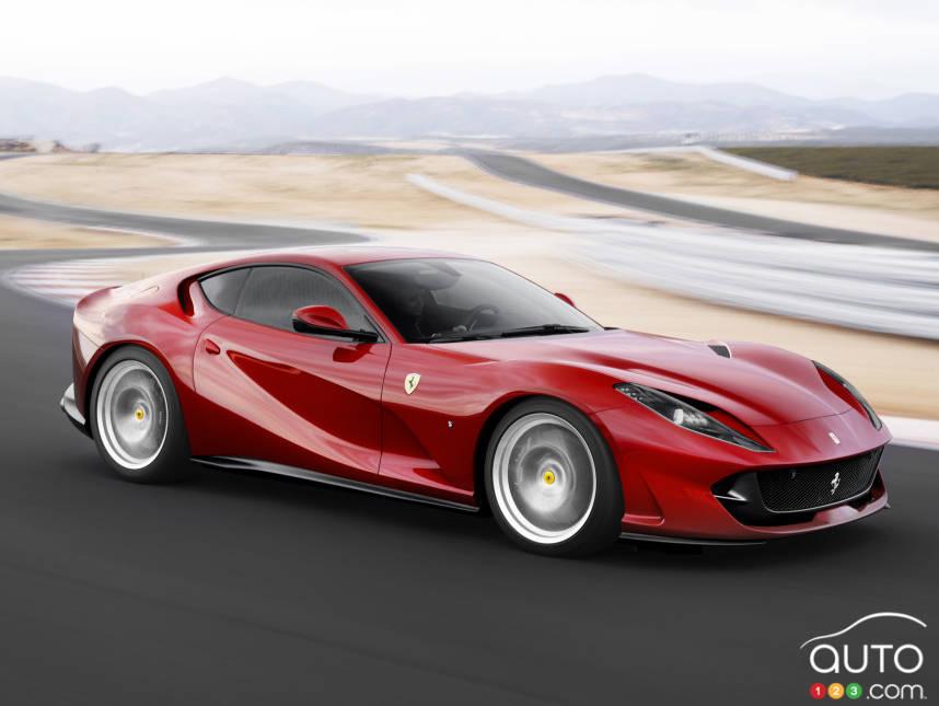 articles sur 812 superfast actualit s automobile auto123. Black Bedroom Furniture Sets. Home Design Ideas