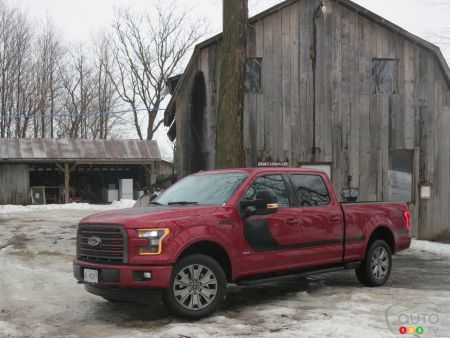 2017 Ford F-150 Lariat SuperCrew: Innovation is a constant
