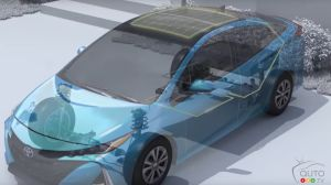 Charging your Toyota Prius Prime starts with the Solar Roof! (video)