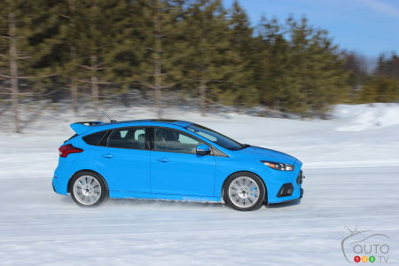 2017 Ford Focus RS rises up to the winter challenge