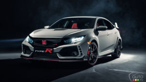 Honda Civic Type R makes surprise debut in North America