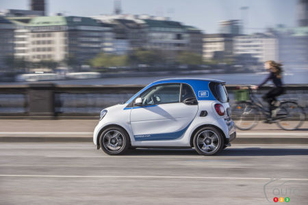 Car2go After Toronto And Vancouver Montreal Gets Its New Smarts