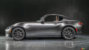L'excellence du design de la Mazda MX-5 RF confirmée par l'ultime prix Red Dot