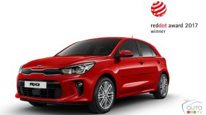Kia shines at 2017 Red Dot Awards, too