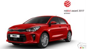 Kia s'illustre aux Red Dot Awards 2017 elle aussi