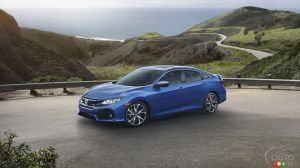 New 2017 Honda Civic Si Introduced in Sedan, Coupe Formats