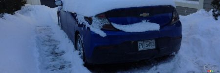 The 2017 Chevrolet Volt is THE Electric Car for Winter