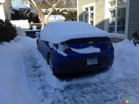 The Chevrolet Volt Is The Electric Car For Tackling Winter Car