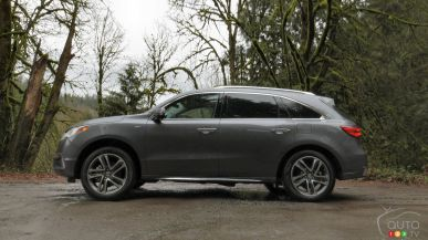 2017 Acura MDX Sport Hybrid won't soon be forgotten