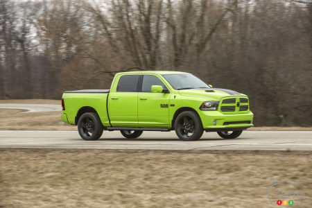 New York 2017: New Striking Colours for the Ram 1500