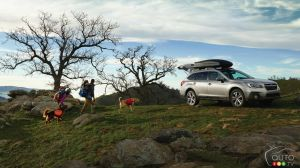New York 2017: North American Debuts for 2018 Subaru Outback, 2018 Crosstrek