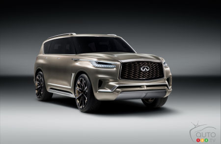 New York 2017: INFINITI QX80 Monograph Has Beautiful Ideas of Grandeur