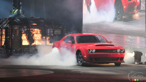 New York 2017: Dodge Challenger SRT Demon unleashed with 840 hp!