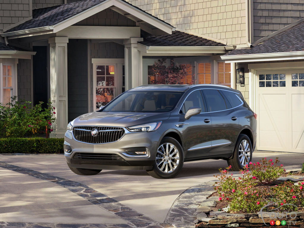The all-new, second-generation 2018 Buick Enclave