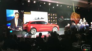 Jaguar F-PACE named 2017 World Car of the Year in New York