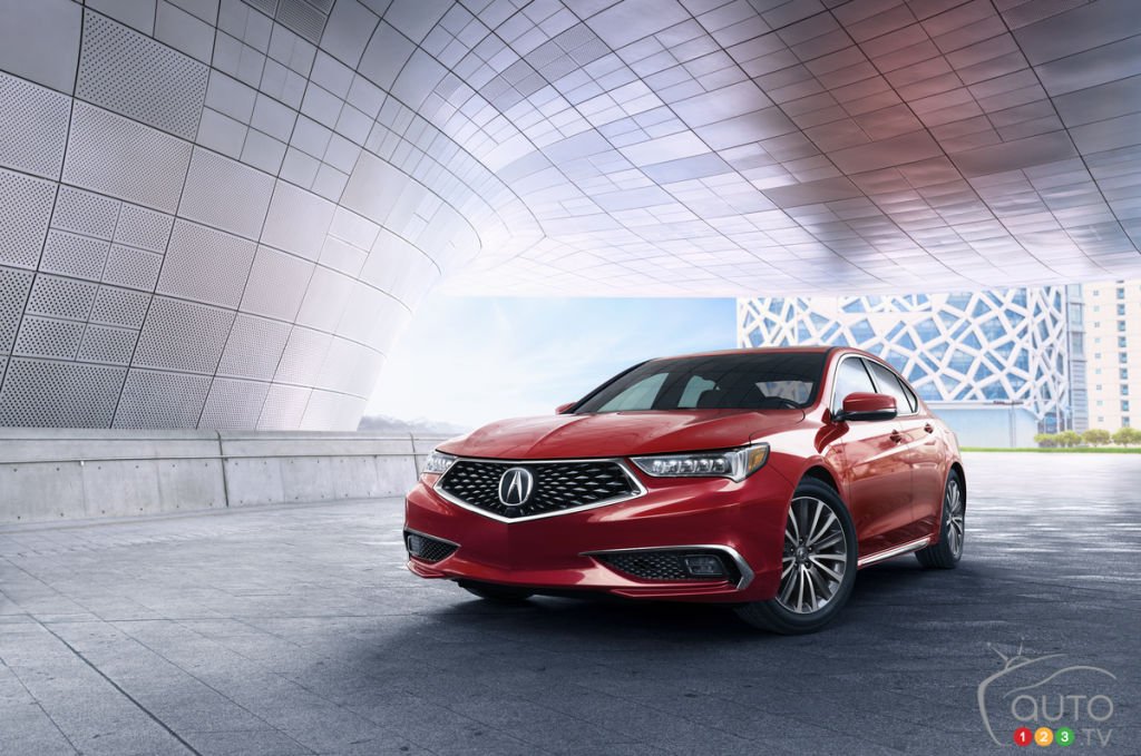 New York 2017: 2018 Acura TLX Strikes a Mean Pose