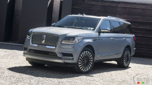 New York 2017: The 2018 Lincoln Navigator, a trip in first class!