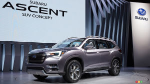 New York 2017: Subaru's future midsize SUV to be called Ascent