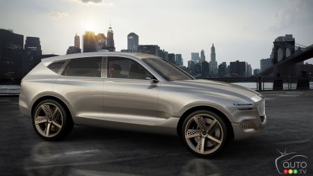 New York 2017: Genesis Shows Possible Future SUV