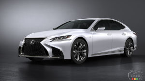 New York 2017: Lexus LS 500 F SPORT Makes World Debut
