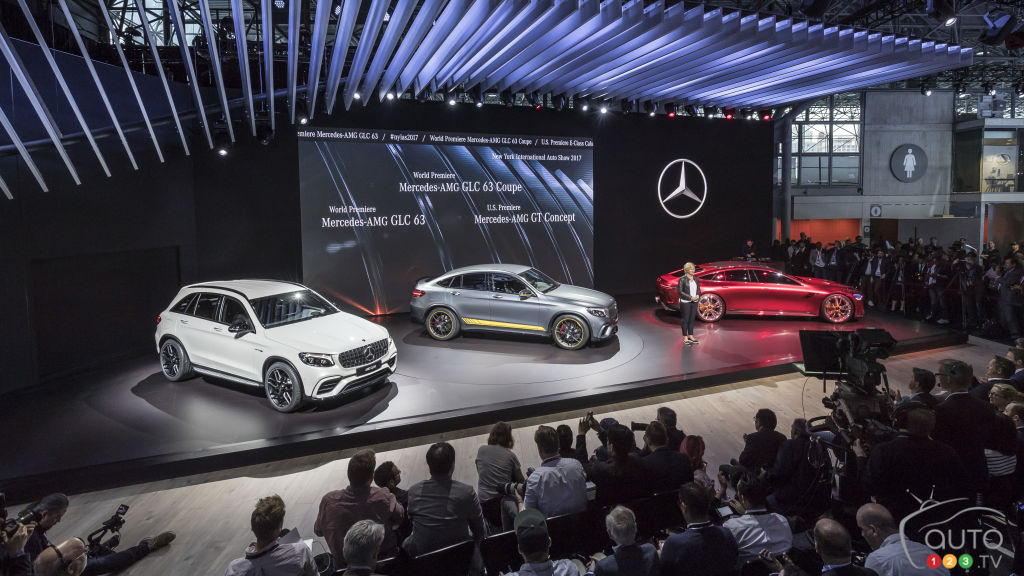 New York 2017: Mercedes Benz And Its Many Premieres