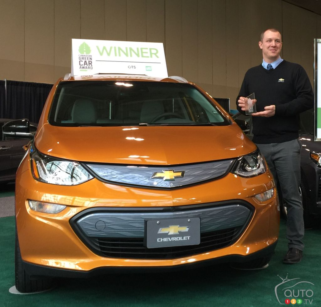 Chevrolet Bolt EV named 2017 Canadian Green Car