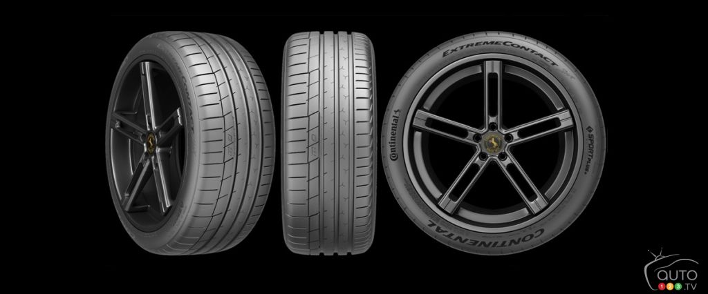 Continental ExtremeContact Sport, a new ultra-high-performance tire