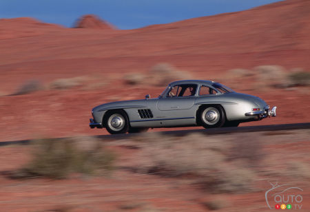 Mercedes-Benz shows top 5 fastest cars of their era