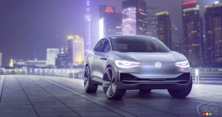 Shanghai 2017: Volkswagen Unveils Electric Crossover Concept