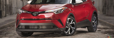 The 2018 Toyota C-HR: Both Cool and Staid