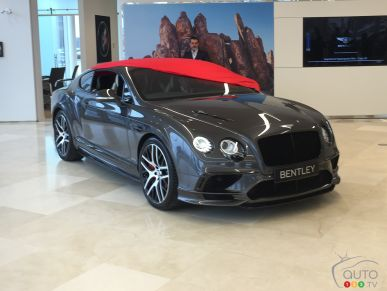 2018 Bentley Continental SuperSports makes Canadian debut at Decarie Motors