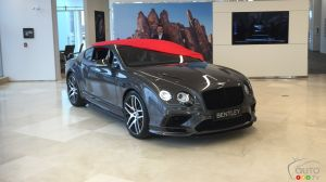 La Bentley Continental Supersports 2018 en primeur canadienne chez Decarie Motors