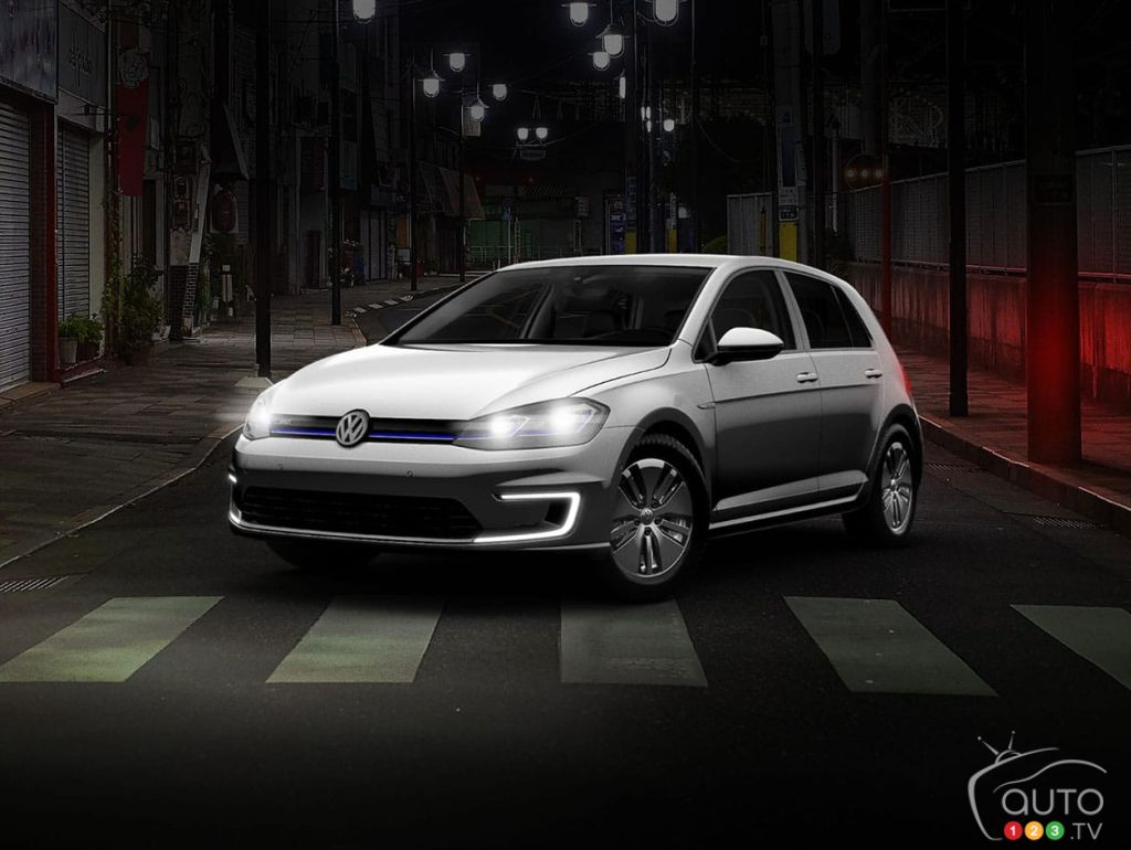The next-generation Volkswagen e-Golf offers a range of 201 km.