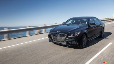 2018 Genesis G80 Sport now on sale for a cool $62,000