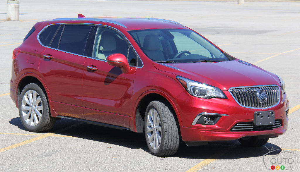 Montreal-New York Aboard the New 2017 Buick Envision