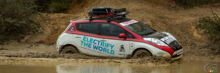 An All-Terrain Nissan LEAF: It's a Thing!