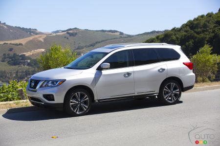 2017 Nissan Pathfinder Makes its Mark