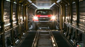 2017 Chevrolet Colorado ZR2 Rolling Off Assembly Lines!