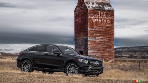 Mercedes-Benz GLC Coupé 2017 : plus racé que familial