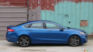 2017 Ford Fusion Sport is No Repmobile