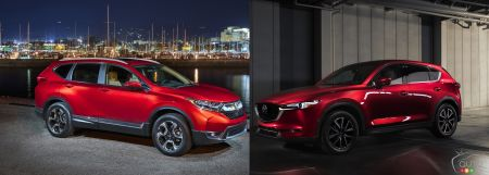 2017 Honda CR-V vs 2017 Mazda CX-5: Hard to Choose?