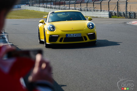 The New Porsche 911 GT3, Faster than Ever at Nürburgring