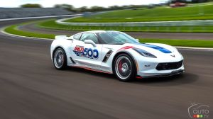 2017 Chevrolet Corvette Grand Sport to Pace the Next Indy 500