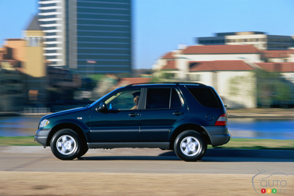 20 Years Ago: The First Modern Mercedes SUV
