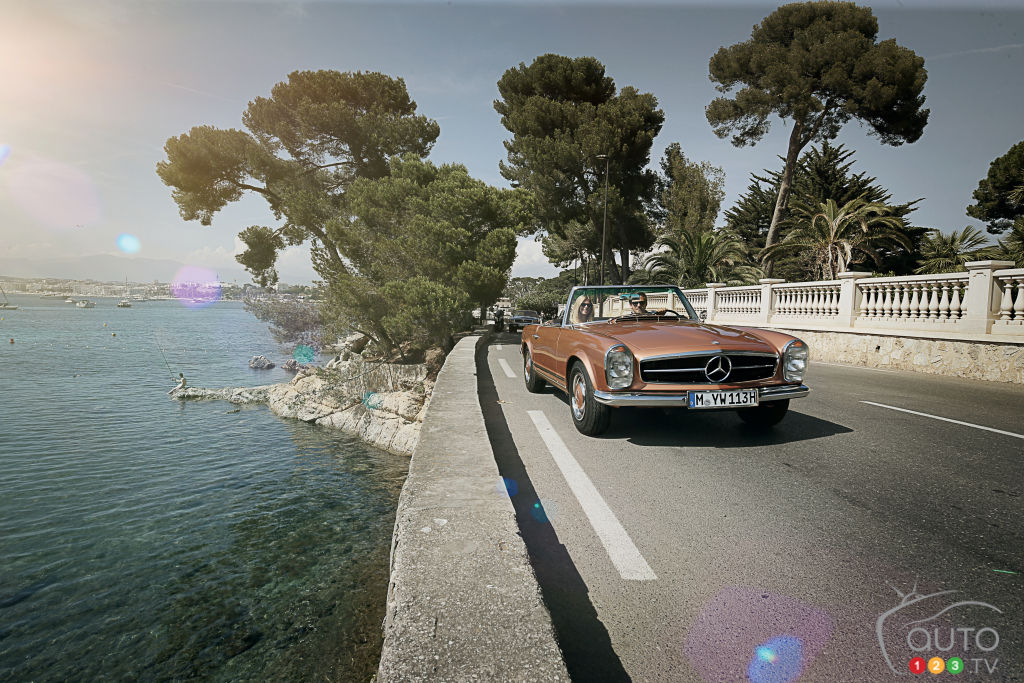 Europe in a Classic Mercedes SL: Sound Good to You?