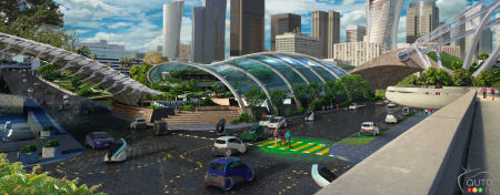 What the City of Tomorrow Will Look Like According to Ford